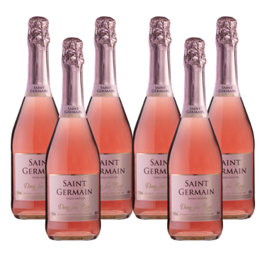 Kit Espumante Saint Germain Demi Sec Rosé