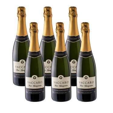 Kit Espumante Vaccaro Brut Champenoise - Compre 5 Leve 6