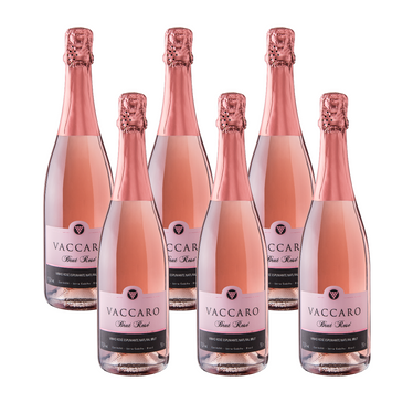 Kit Espumante Vaccaro Brut Rose