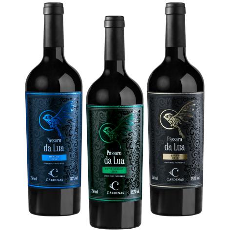 Kit Vinho Cárdenas Pássaro da Lua