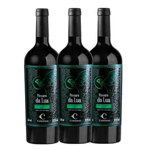 Kit Vinho Cárdenas Pássaro da Lua Petit Verdot