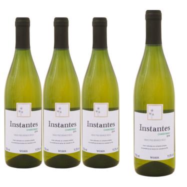 Kit Vinho Instantes Chardonnay - Compre 3 LEVE 4