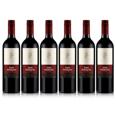 Kit Vinho San Martin Bordo Seco