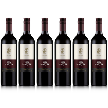 Kit Vinho San Martin Bordo Suave