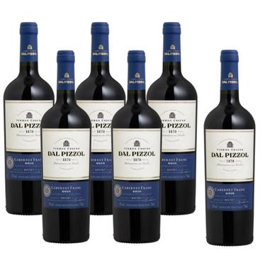 Kit Vinho Tinto Cabernet Franc Dal Pizzol - Compre 5 Leve 6