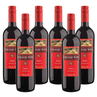 Kit Vinho Tinto Country Wine Suave