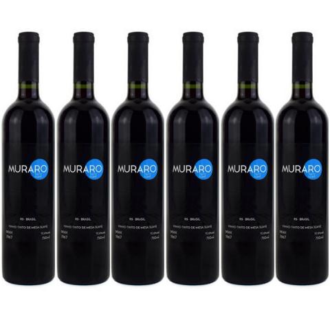 Kit Vinho Tinto Muraro Suave