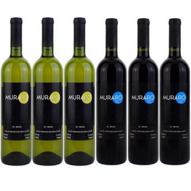 Kit Vinhos Muraro Suaves
