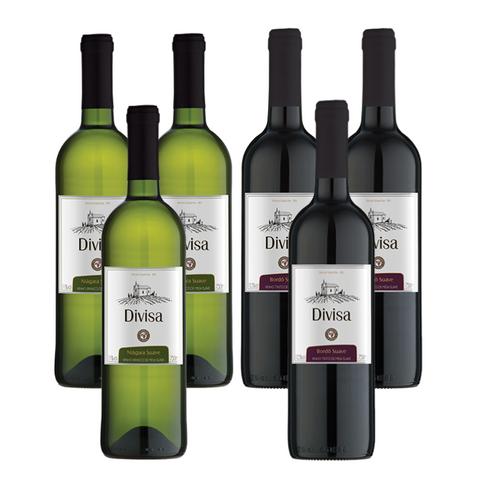 Kit Vinhos Suaves Divisa