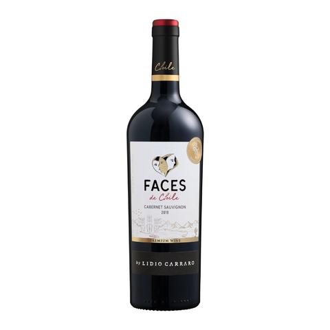 Vinho Faces de Chile Cabernet Sauvignon