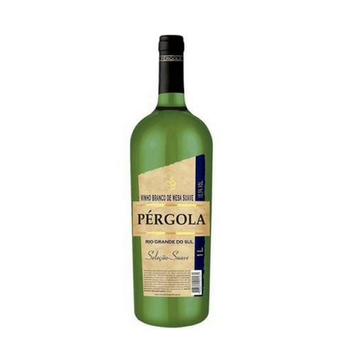 Vinho Pérgola Branco Suave 1 Litro