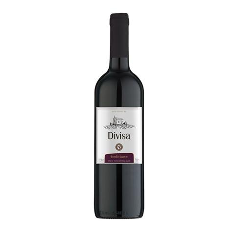 Vinho Tinto Bordô Suave Divisa