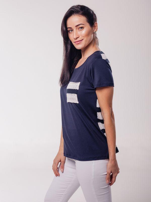 Blusa Daiane c/ Tricot