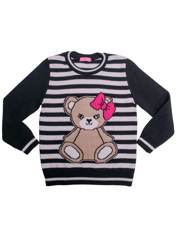 Blusa Twiky Urso Listrada