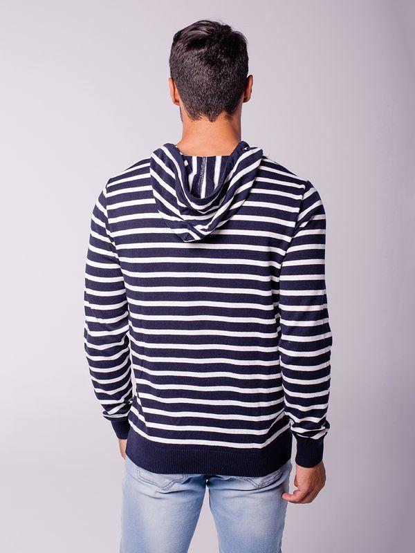 Blusa Blackstone c/ Capuz Listra