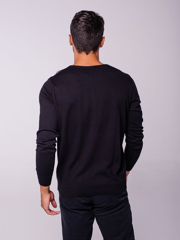 Suéter Intarsia