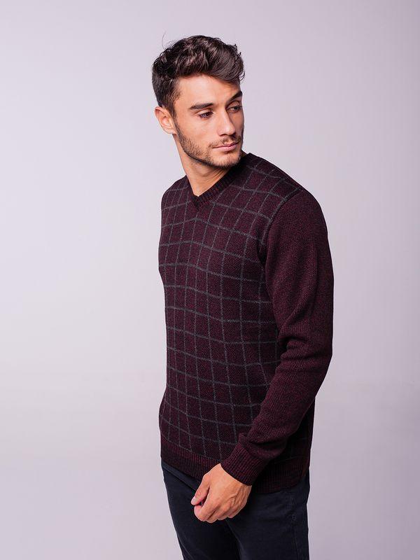 Suéter Quadriculado
