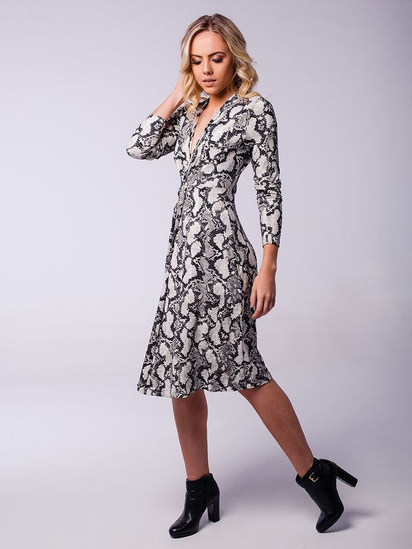 Vestido Daiane Animal Print