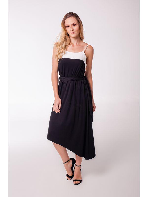 Vestido Daiane Bicolor