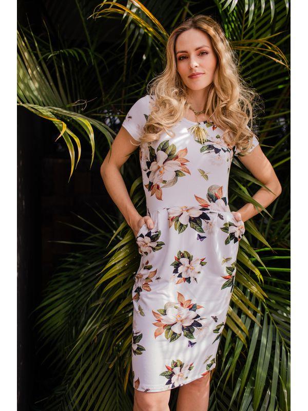 Vestido Daiane Bolsinho