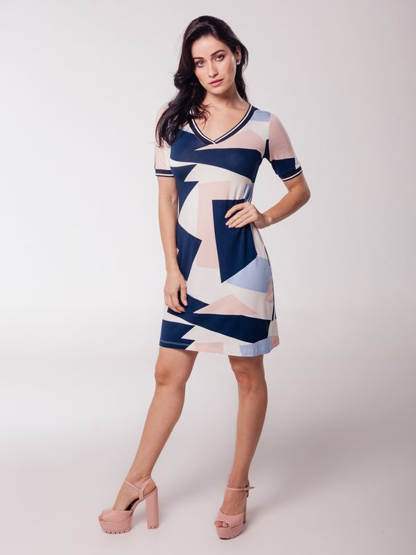 Vestido Daiane c/ Tricot