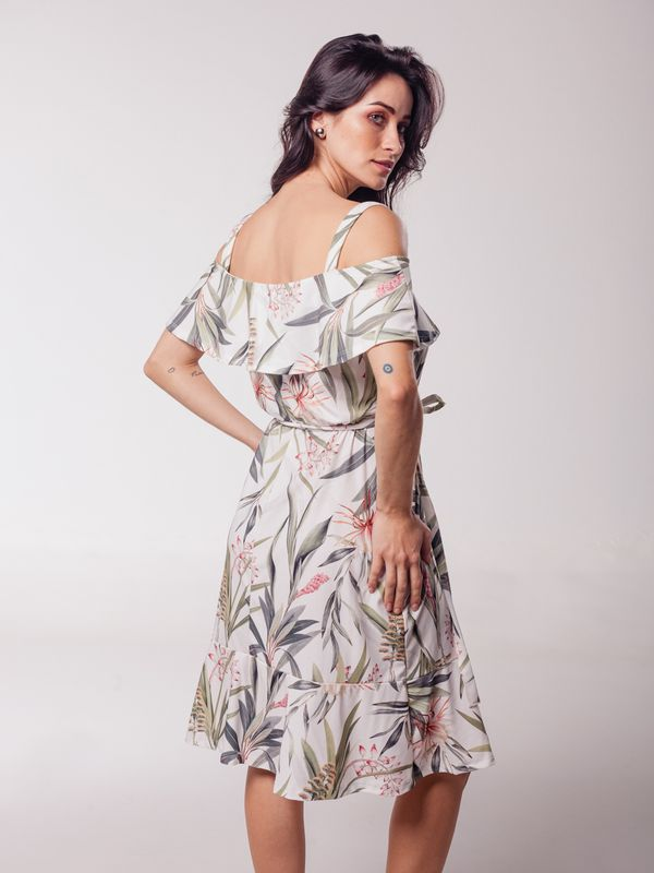 Vestido Daiane Furo Ombro