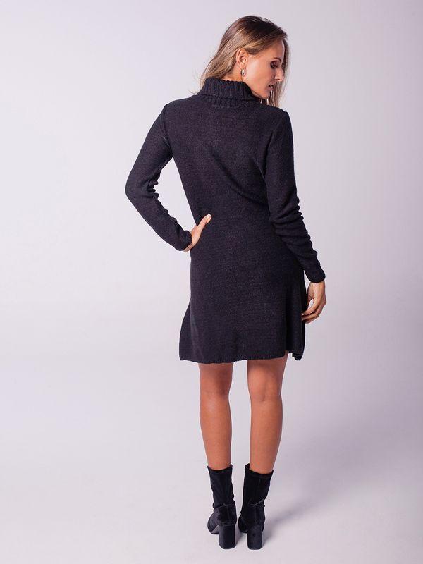 Vestido Gola Alta