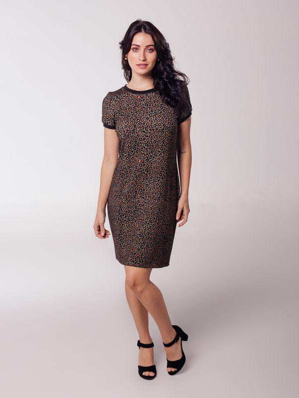Vestido Daiane Onça