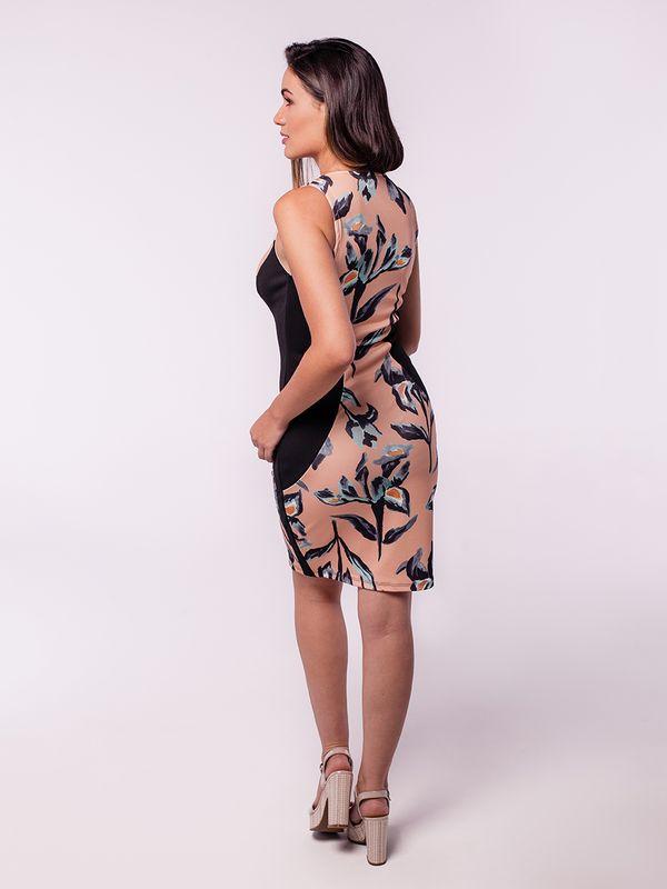 Vestido Recortes