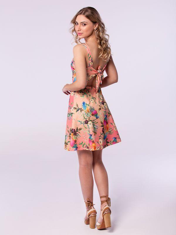 Vestido Tira Costas