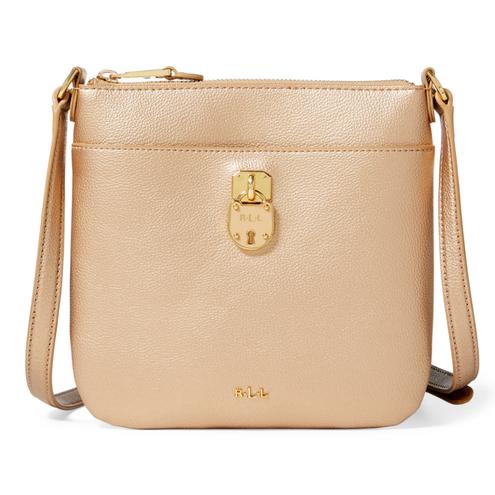 Pebbled Lila Crossbody Bag
