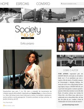 Site Society Rio-SP | Novembro