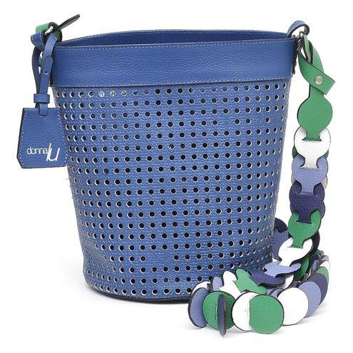 Bolsa de Couro Bucket Vida