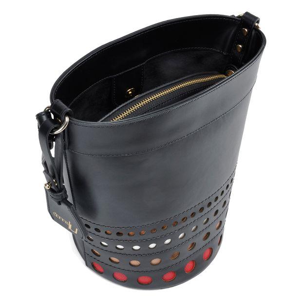 Bolsa de Couro Bucket Donata