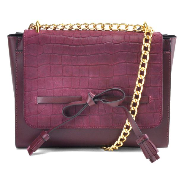 Bolsa de Couro Lady Satchel Jaya