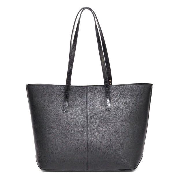 Bolsa de Couro Shopping Nami