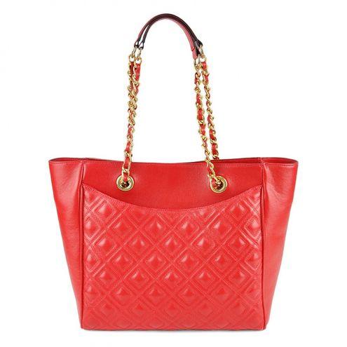 Bolsa de Couro Shopping Alessia