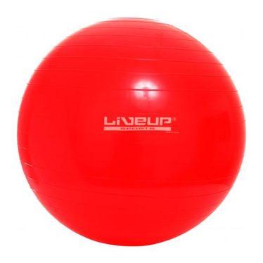 Bola Suiça Pilates Live Up Tamanho:45Cm;cor:vermelha