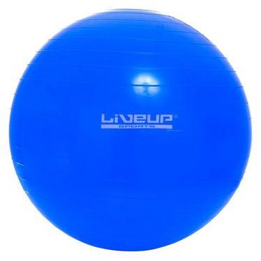 Bola Suiça Pilates Live Up Tamanho:65Cm;cor:azul