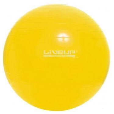 Bola Suiça Pilates Live Up Tamanho:75Cm;cor:amarela