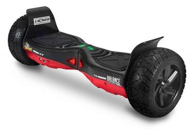 Hoverboard Two Dogs Monster Vermelho Carbono