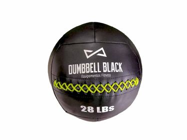Wall Ball Dumbbell Black Peso:16Lb/7Kg - Eagles Games
