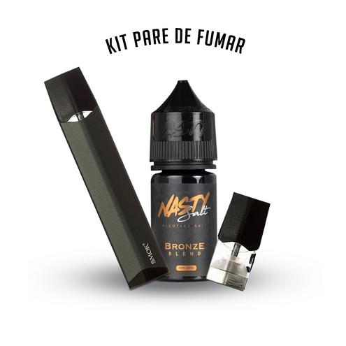 Kit Infinix - Smok PARE DE FUMAR! Nasty Salt Bronze Blend