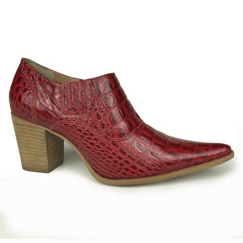 Sapato Dina Mirtz Country Bico Fino