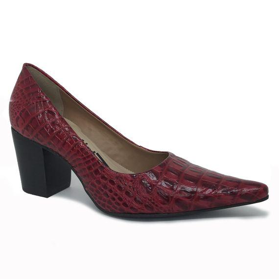 Sapato Dina Mirtz Salto Grosso