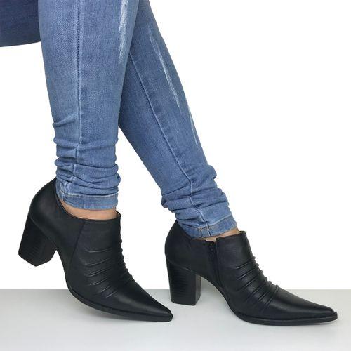 Sapato Feminino Preto Dina Mirtz
