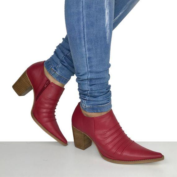 Sapato Feminino Salto Grosso Dina Mirtz