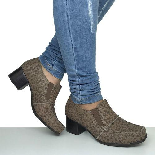Sapato Salto Baixo Grosso Dina Mirtz