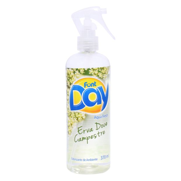 Odorizante Aqua Fresh Font Day Erva Doce Campestre 370ml