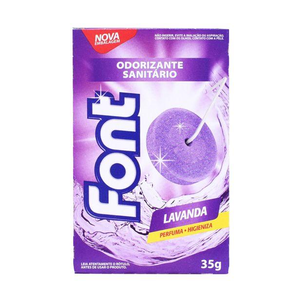Desodorizante Sanitário Font Lavanda 35g